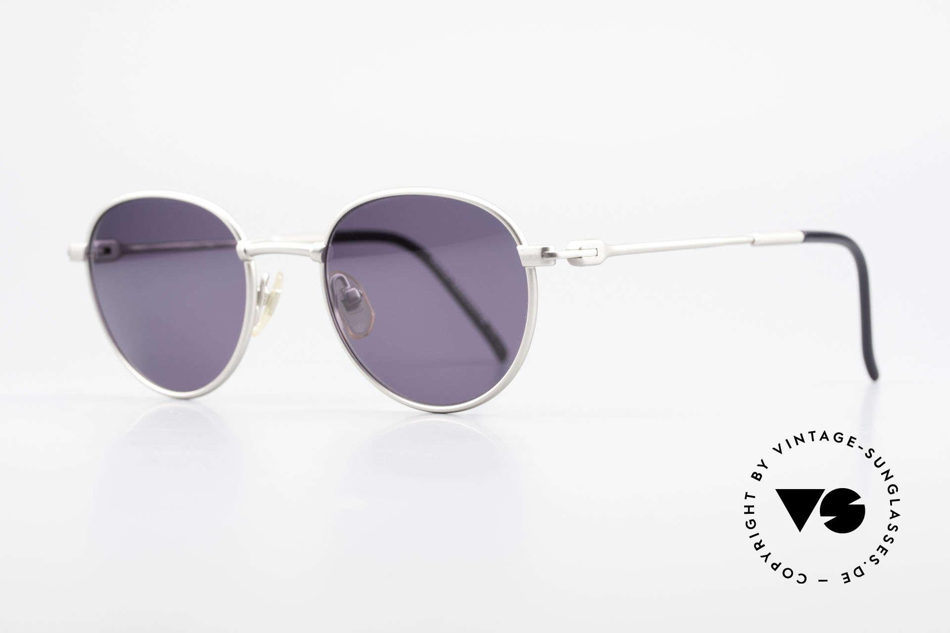 Yohji Yamamoto 52-4102 90's Panto Designer Sunglasses, but world-famous exquisite craftsmanship & materials, Made for Men and Women
