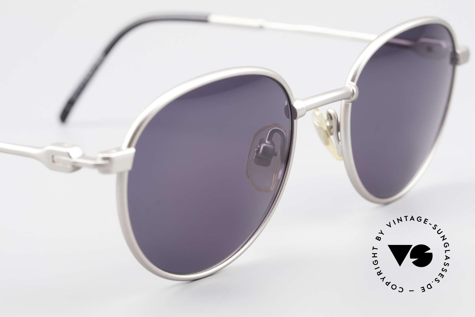Yohji Yamamoto 52-4102 90's Panto Designer Sunglasses, NO retro shades, but a 25 years old Yamamoto original, Made for Men and Women