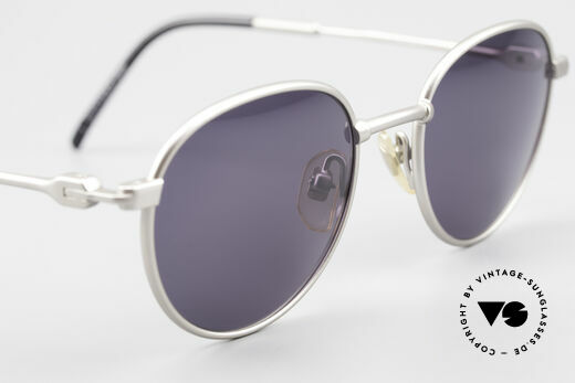 Yohji Yamamoto 52-4102 90's Panto Designer Sunglasses, NO retro shades, but a 25 years old Yamamoto original, Made for Men and Women
