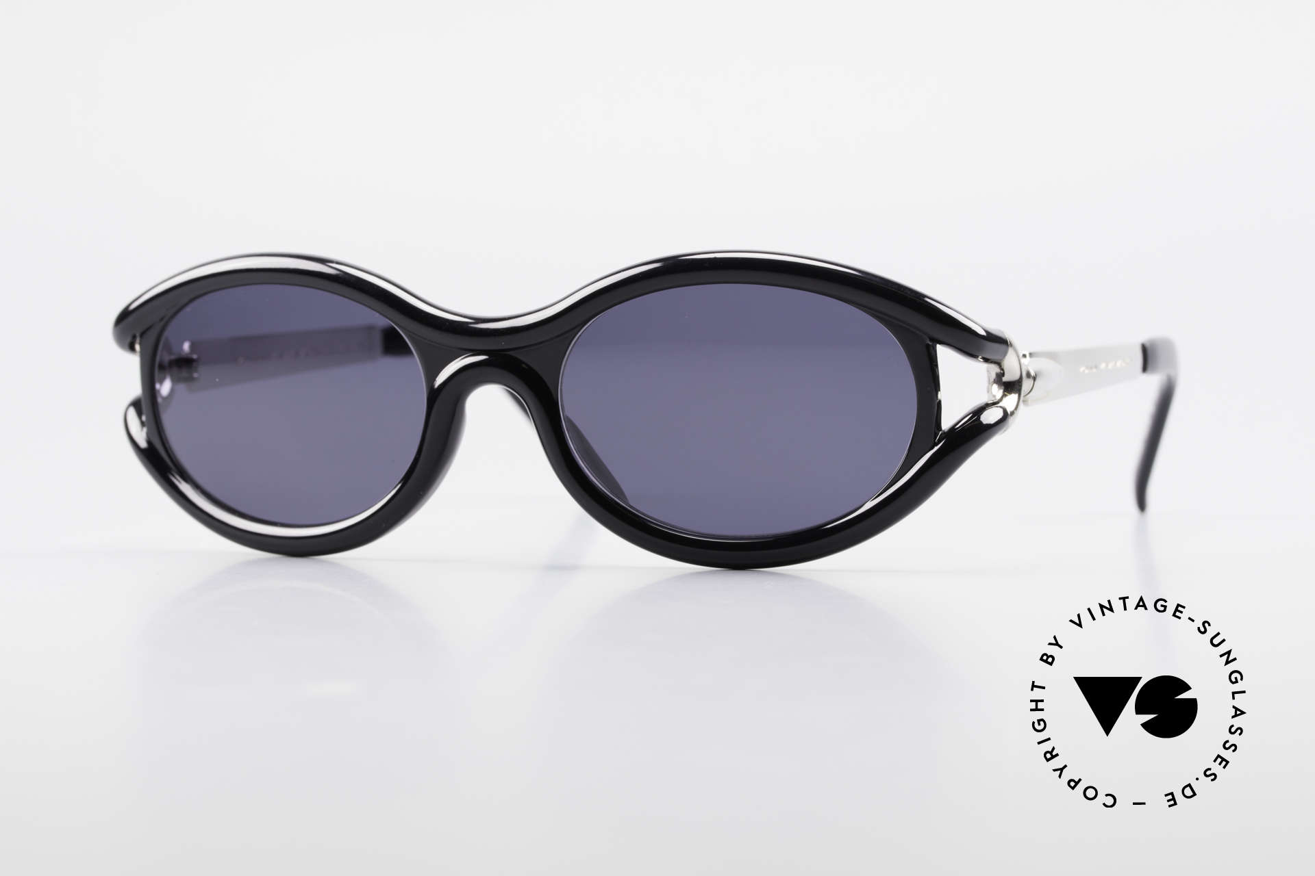 Yohji Yamamoto 52-5201 Designer Shades Made in Japan, unique vintage sunglasses by Yohji Yamamoto of the 90s, Made for Men and Women