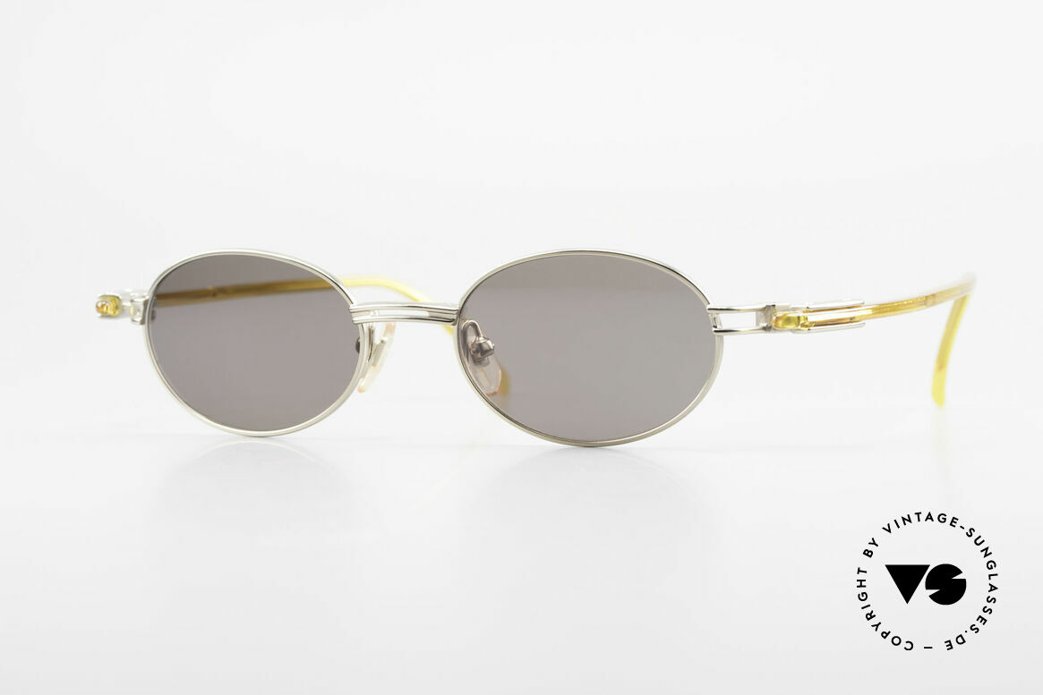 Yohji Yamamoto 52-7202 Designer Shades Oval Vintage