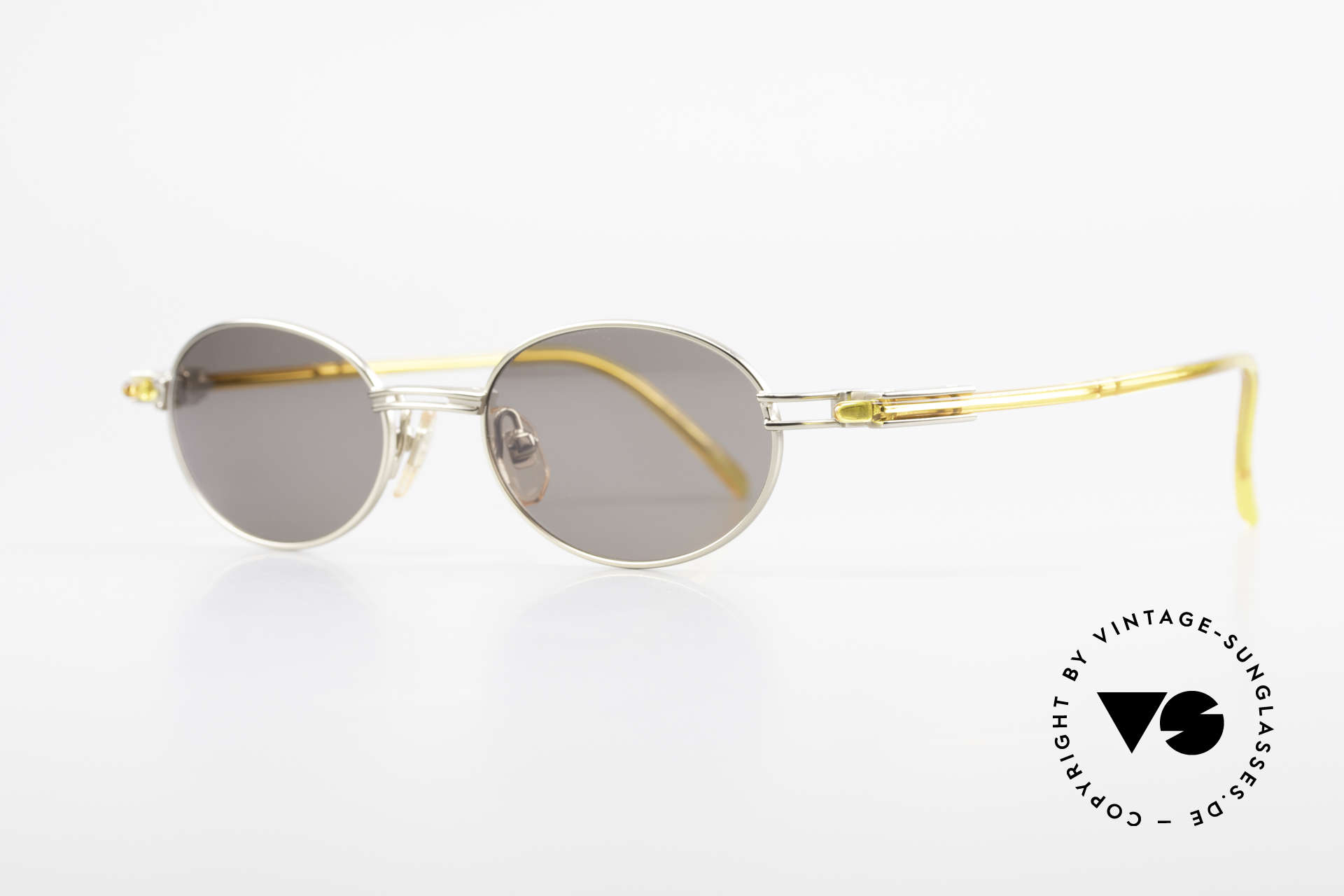 Yohji Yamamoto 52-7202 Designer Shades Oval Vintage, outstanding materials and craftsmanship; made in Japan, Made for Men and Women