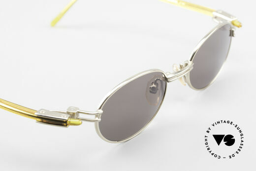 Yohji Yamamoto 52-7202 Designer Shades Oval Vintage, NO RETRO shades; a Yamamoto original from 1997 in XL, Made for Men and Women