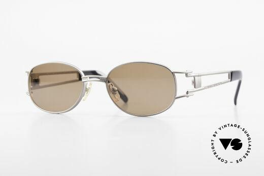Yohji Yamamoto 52-6106 Designer Shades Vintage Oval Details