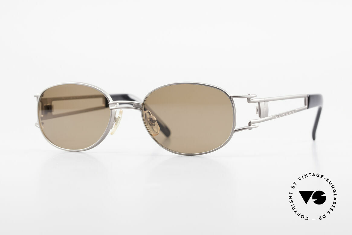 Yohji Yamamoto 52-6106 Designer Shades Vintage Oval, classic oval 1990's Yohji YAMAMOTO vintage sunglasses, Made for Men and Women