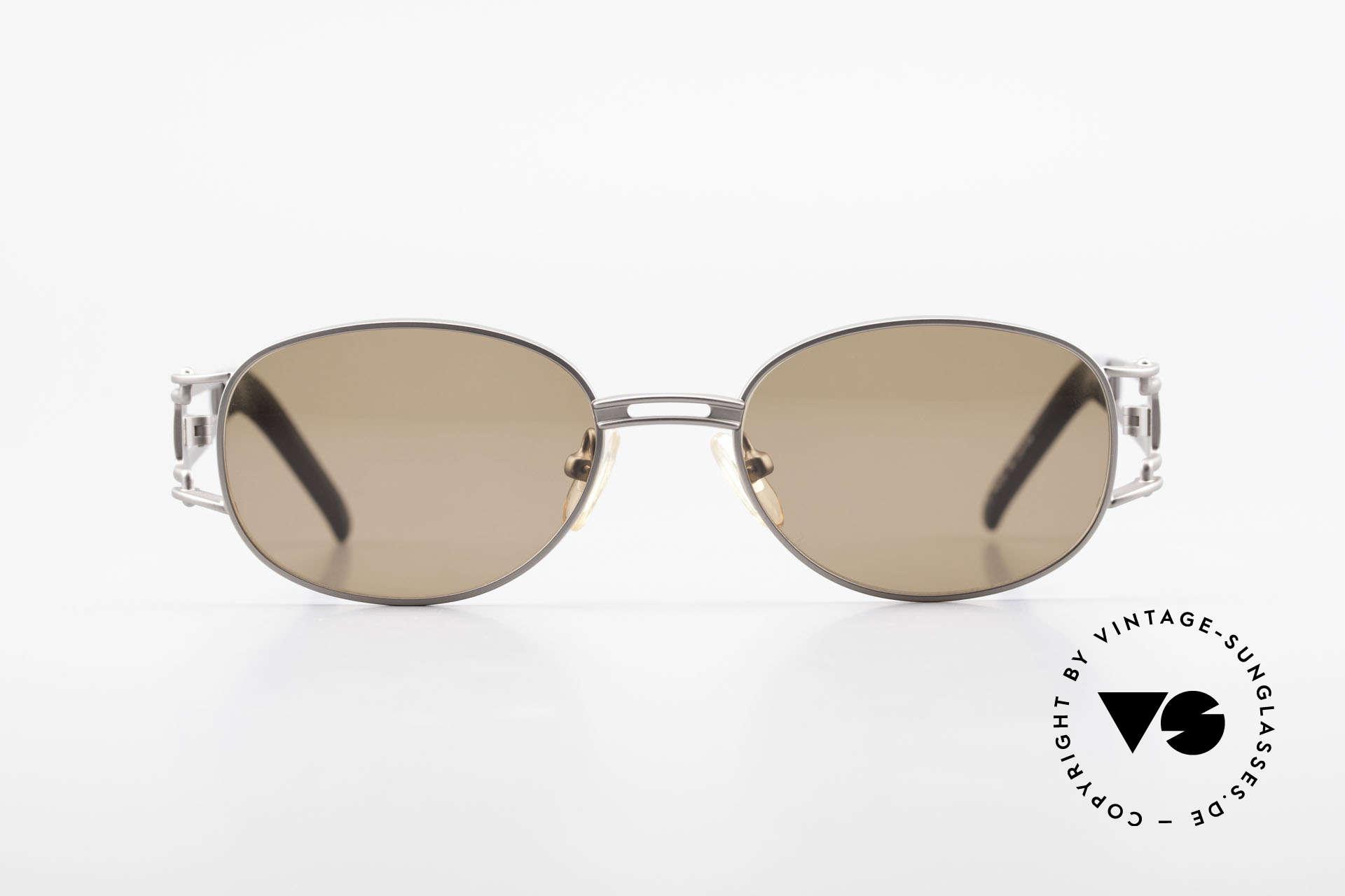 Yohji Yamamoto 52-6106 Designer Shades Vintage Oval, extraordinary but subtle design elements; AVANT-GARDE, Made for Men and Women