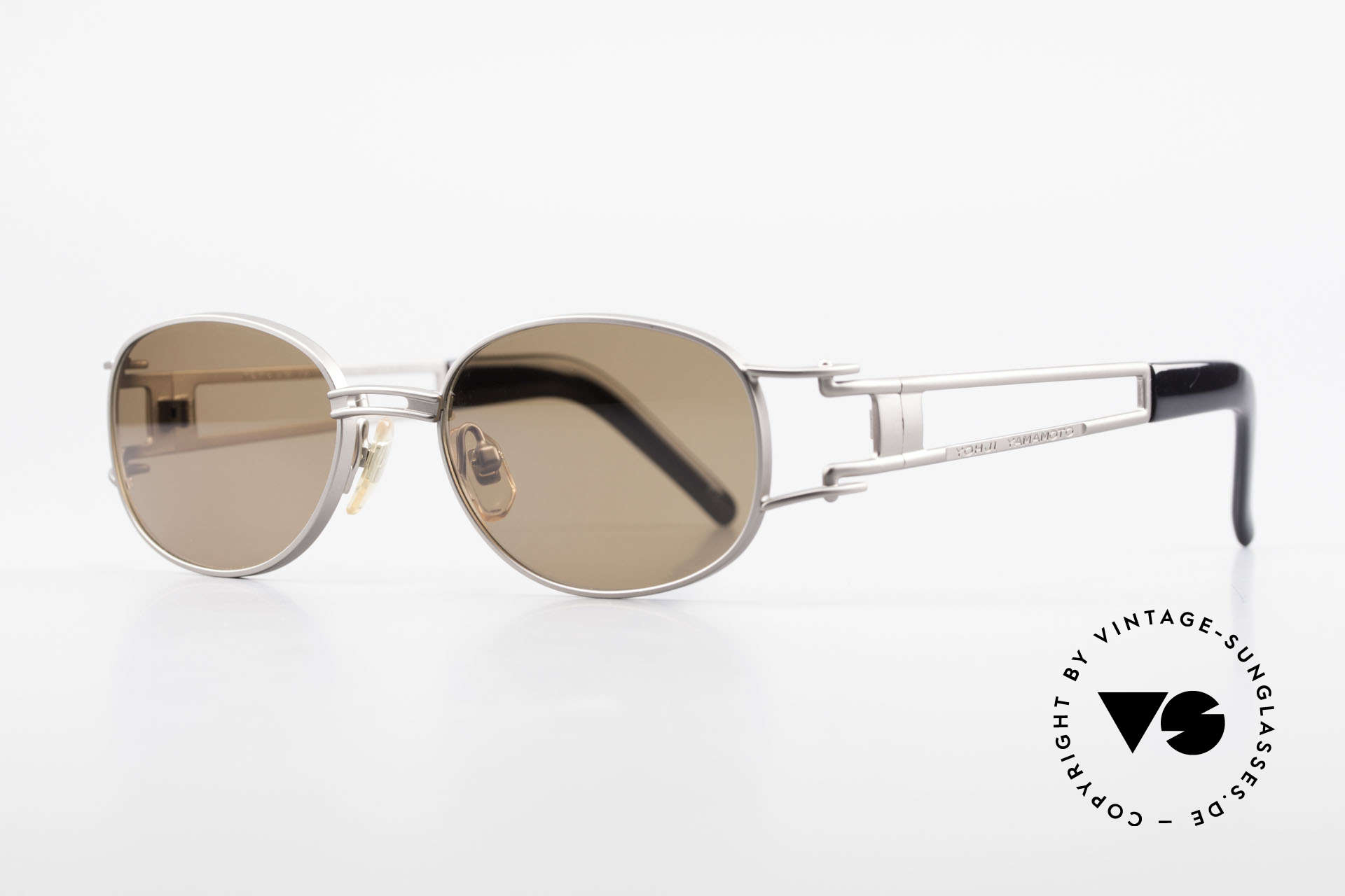 Yohji Yamamoto 52-6106 Designer Shades Vintage Oval, outstanding materials and craftsmanship; made in Japan, Made for Men and Women