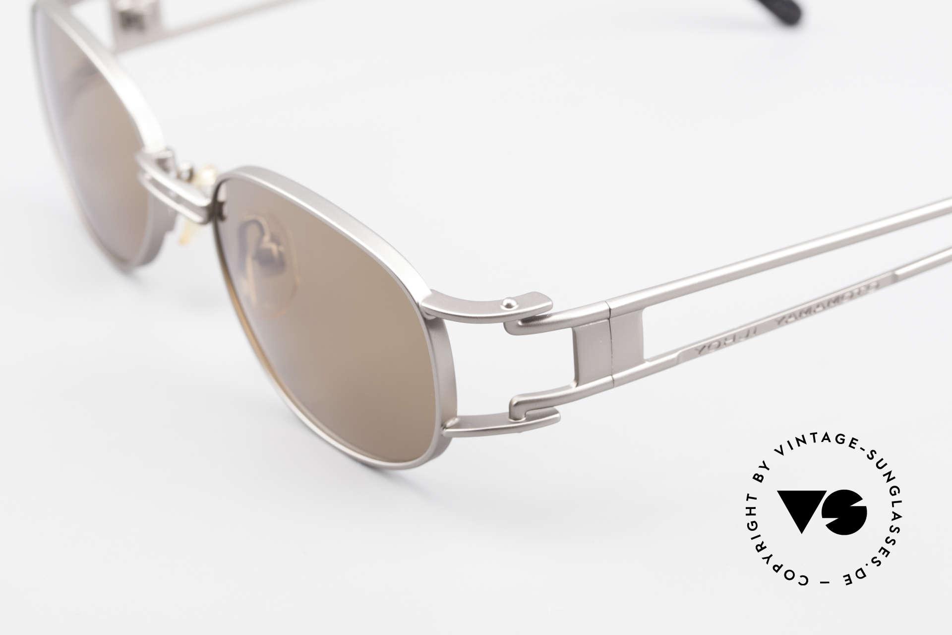 Yohji Yamamoto 52-6106 Designer Shades Vintage Oval, unworn (like all our rare vintage YY designer sunglasses), Made for Men and Women