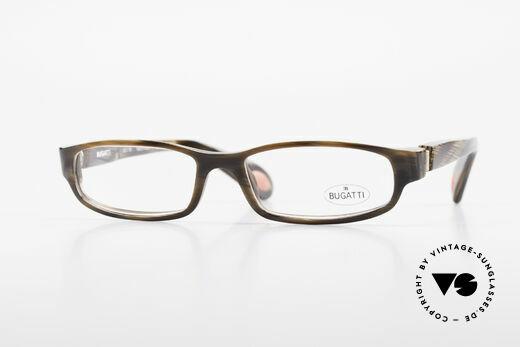 Bugatti 321 Odotype Horn Optic Eyeglass-Frame Details