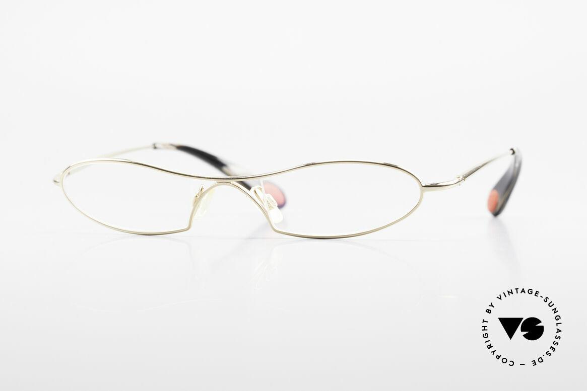 Bugatti 347 Odotype Small Designer Frame Gents, original BUGATTI high-tech eyeglass-frame, Made for Men