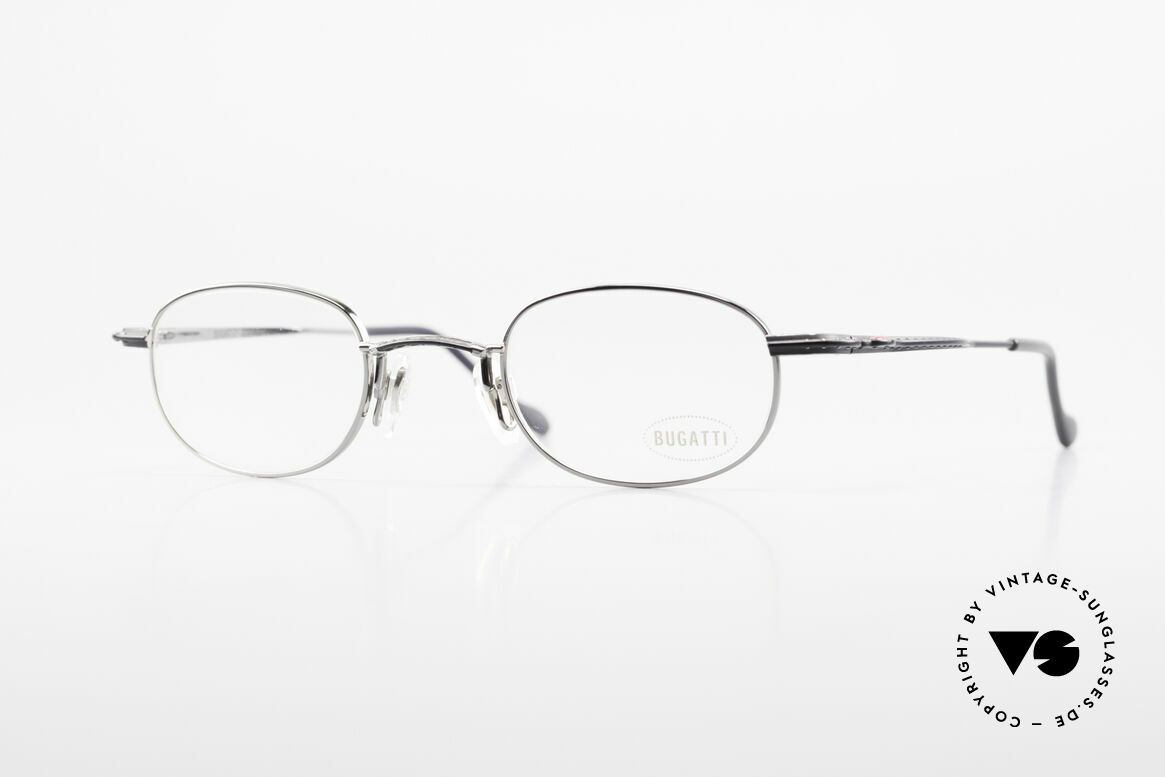Bugatti 23562 Rare 90's Luxury Eyeglasses, very elegant vintage designer eyeglasses by Bugatti, Made for Men