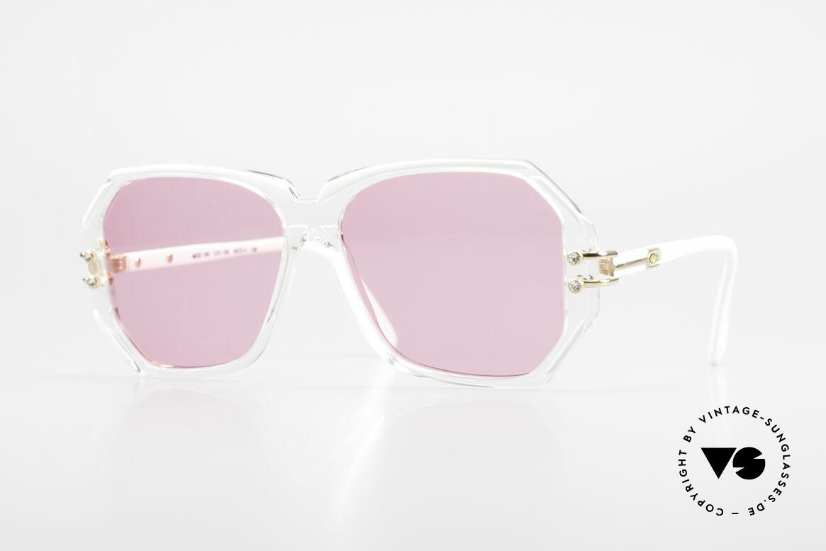 Cazal 169 Pink Vintage Designer Shades, extravagant vintage CAZAL designer sunglasses, Made for Women