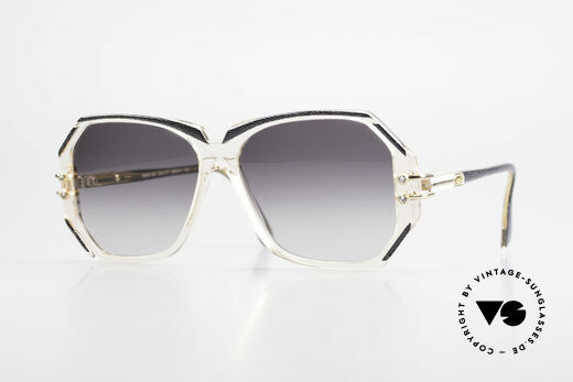 Cazal 169 90's Vintage Ladies Sunglasses Details