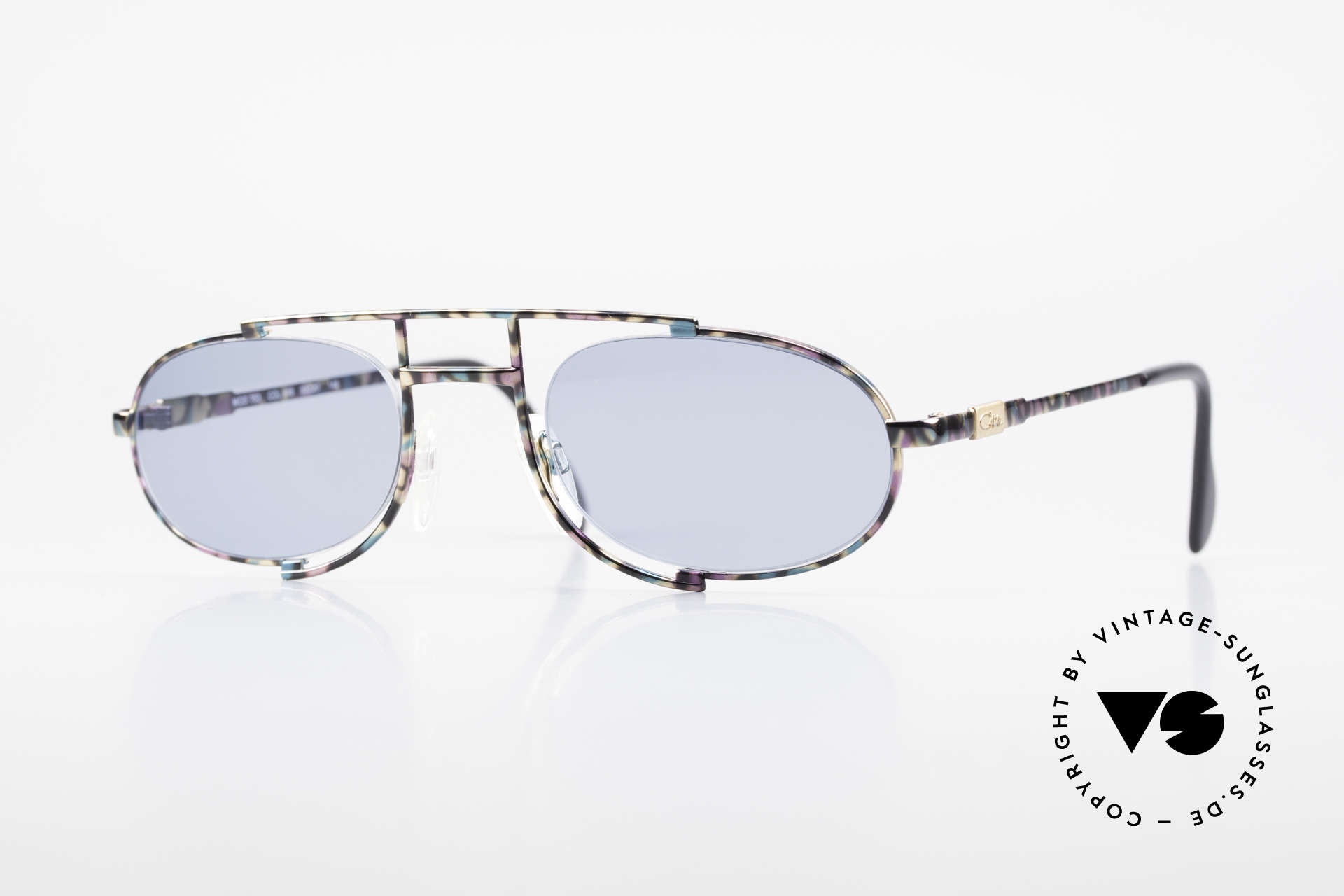 Cazal 753 Oval 90's Designer Sunglasses, rare, oval vintage sunglasses by CAZAL from 1992, Made for Men