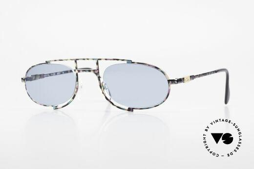 Cazal 753 Oval 90's Designer Sunglasses Details