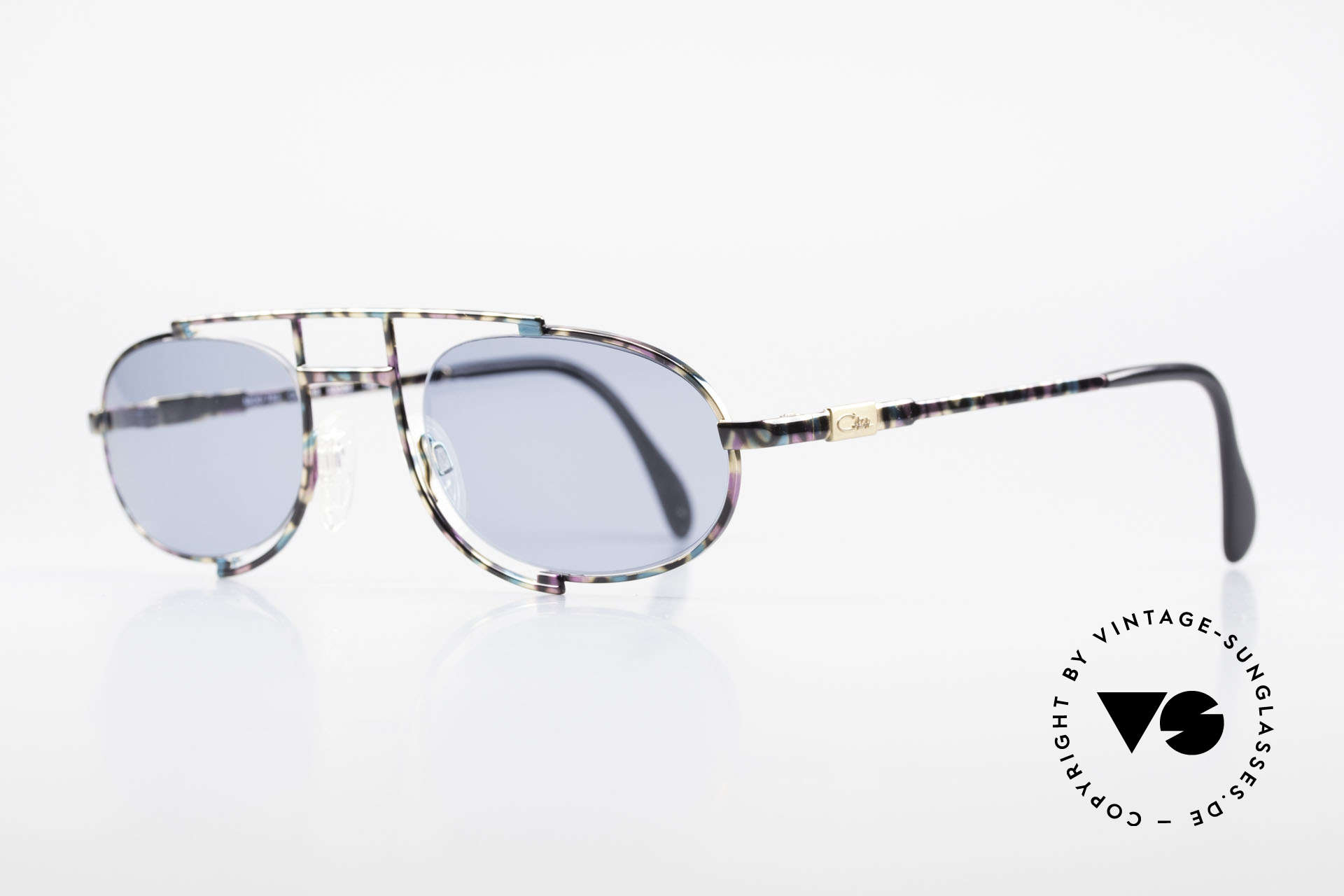 Cazal 753 Oval 90's Designer Sunglasses, a true eye-catcher designed by Mr. CAri ZALloni, Made for Men