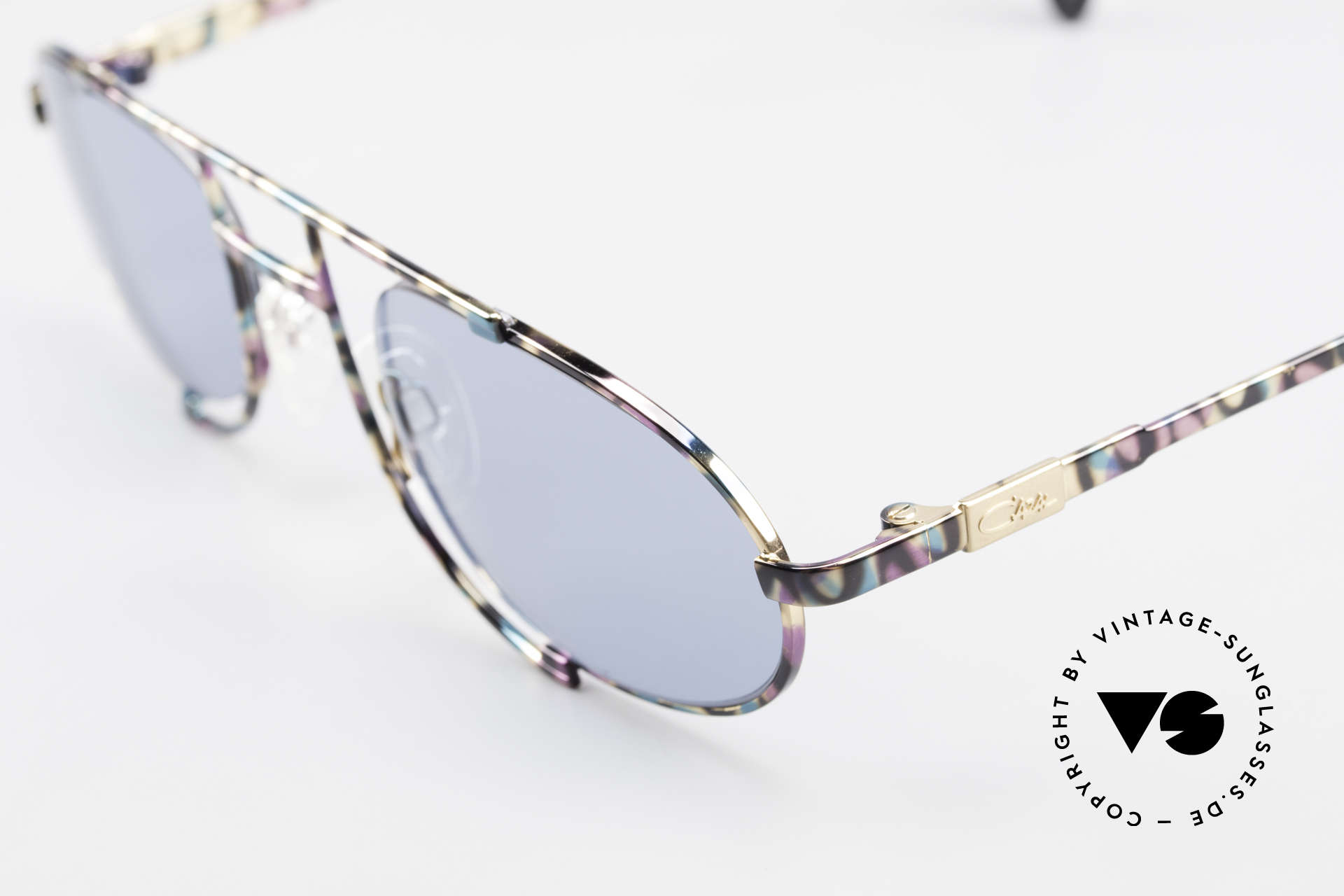 Cazal 753 Oval 90's Designer Sunglasses, high-grade craftsmanship: frame made in Germany, Made for Men