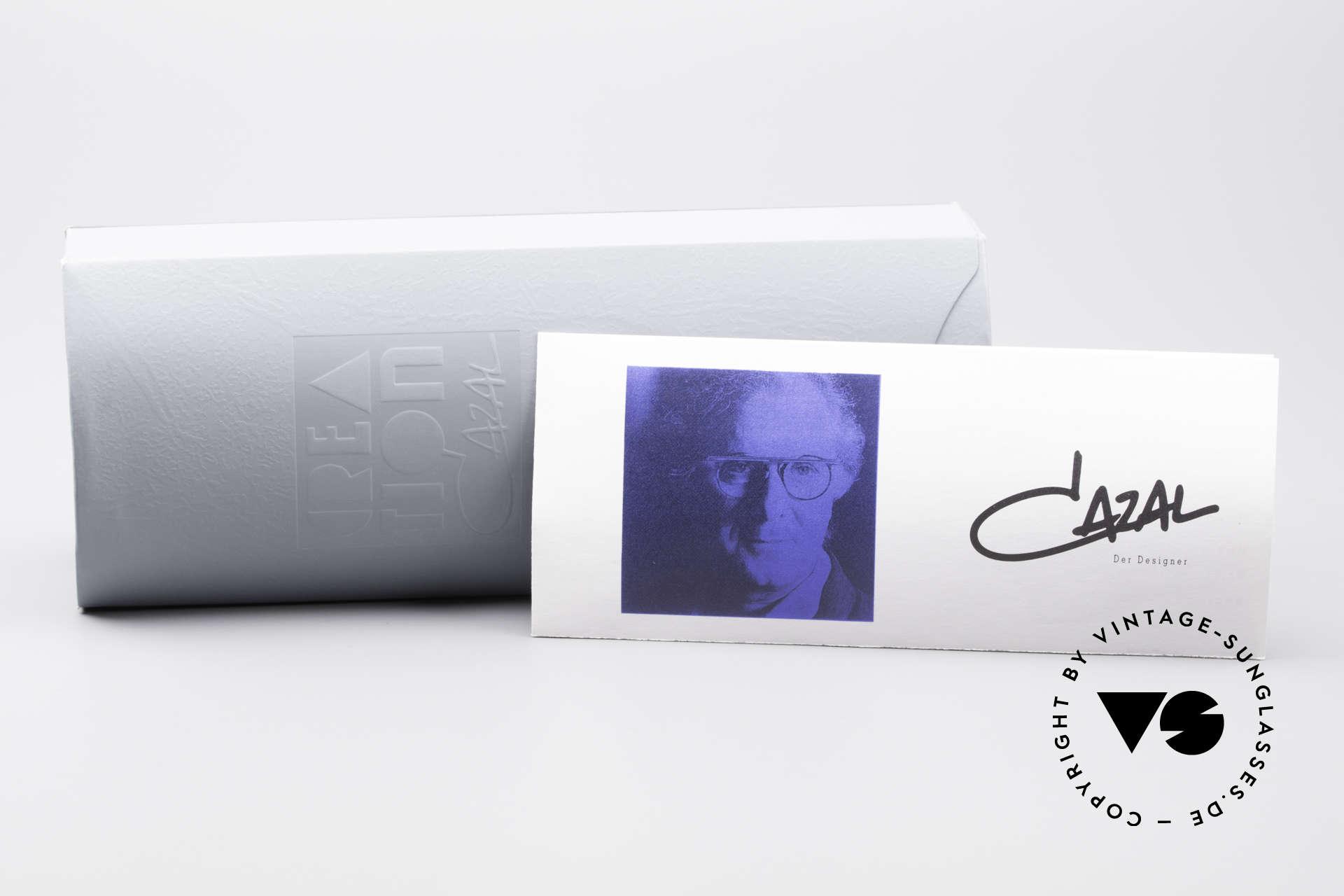 Cazal 753 Rare Oval Designer Sunglasses, NO RETRO SHADES, but a 25 years old ORIGINAL!, Made for Men