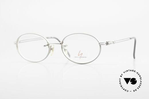 Yohji Yamamoto 51-5107 Titanium Designer Frame Oval Details