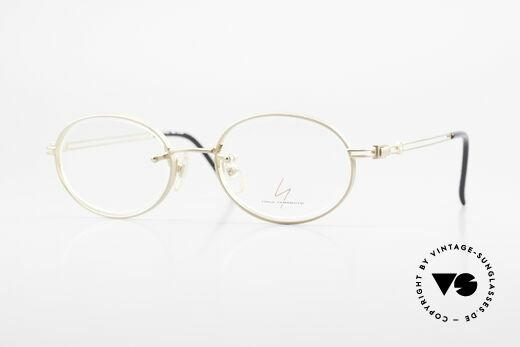 Yohji Yamamoto 51-5107 22kt Gold Plated Oval Frame Details