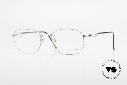 Yohji Yamamoto 51-4113 Titanium Designer Eyeglasses Details