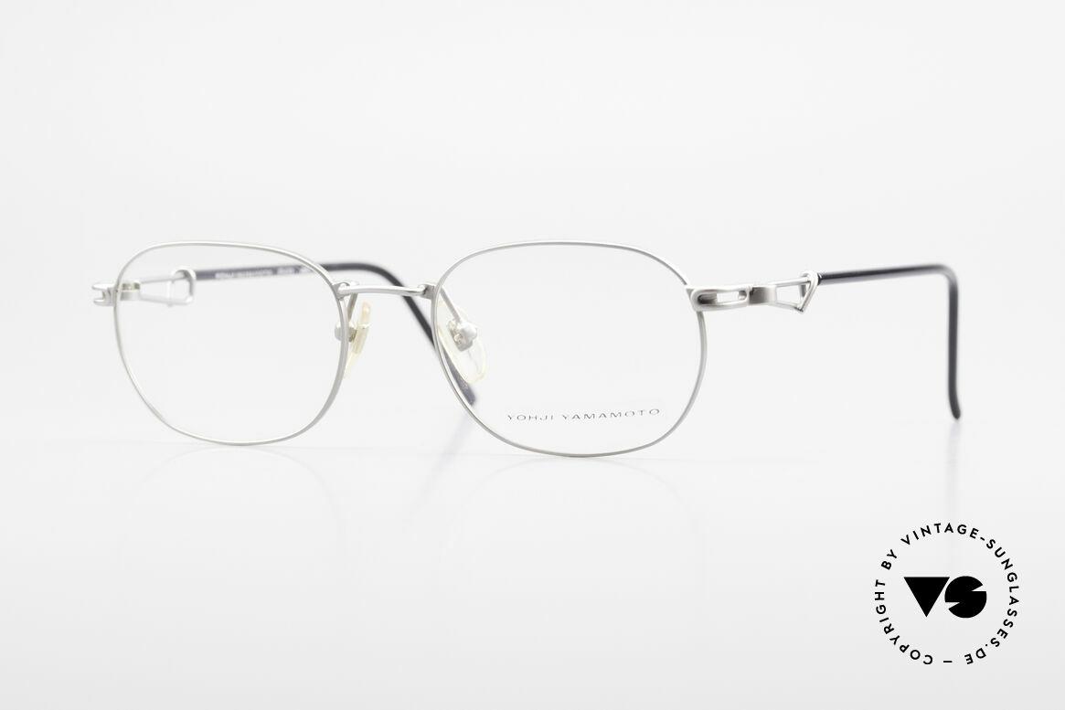 Yohji Yamamoto 51-4113 Titanium Designer Eyeglasses, titianium 90's designer eyeglasses by Yohji Yamamoto, Made for Men and Women