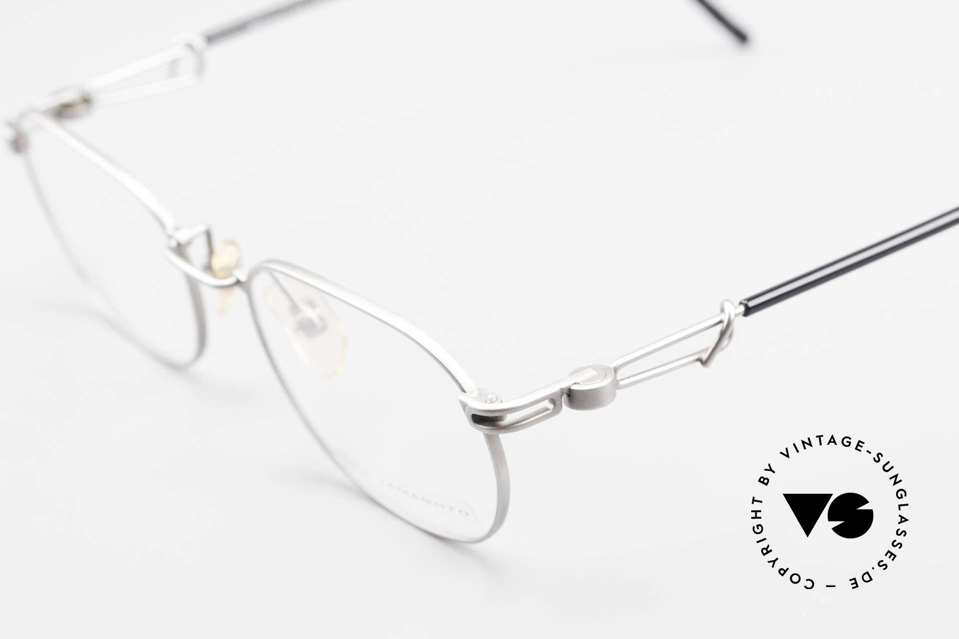 Yohji Yamamoto 51-4113 Titanium Designer Eyeglasses, NO RETRO specs, but a 25 years old Yamamoto original, Made for Men and Women