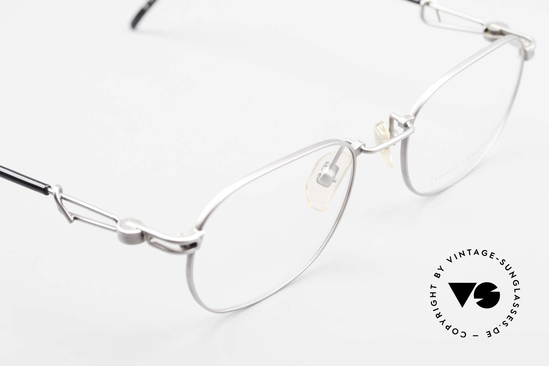 Yohji Yamamoto 51-4113 Titanium Designer Eyeglasses, DEMO lenses can be replaced with optical (sun) lenses, Made for Men and Women