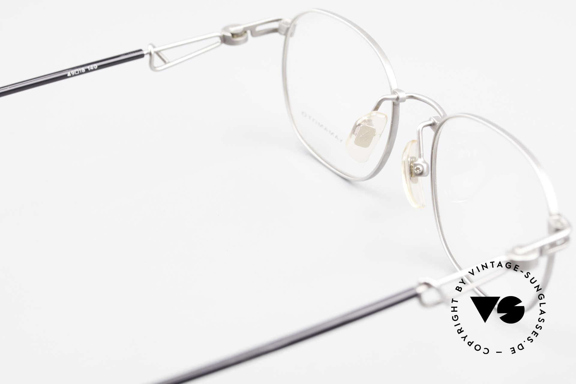 Yohji Yamamoto 51-4113 Titanium Designer Eyeglasses, Size: small, Made for Men and Women
