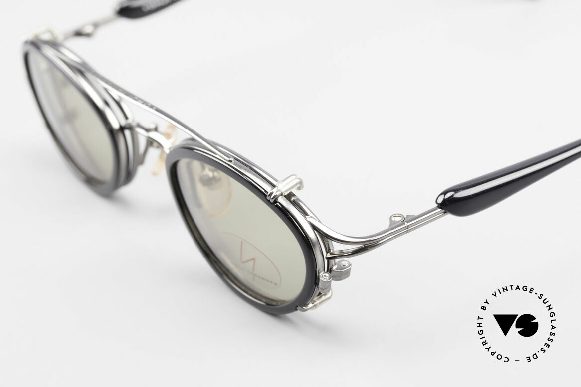 Yohji Yamamoto 51-7210 No Retro Shades Clip-On 90's, NO retro specs, but a 25 years old Yamamoto original, Made for Men and Women
