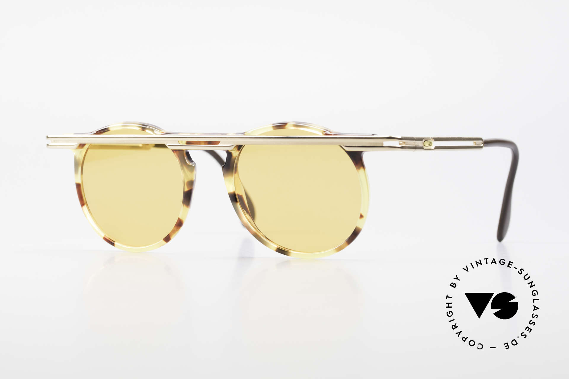 Cazal 648 90's Cari Zalloni Sunglasses, extraordinary CAZAL vintage sunglasses from 1990, Made for Men and Women