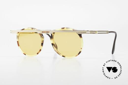 Cazal 648 90's Cari Zalloni Sunglasses Details