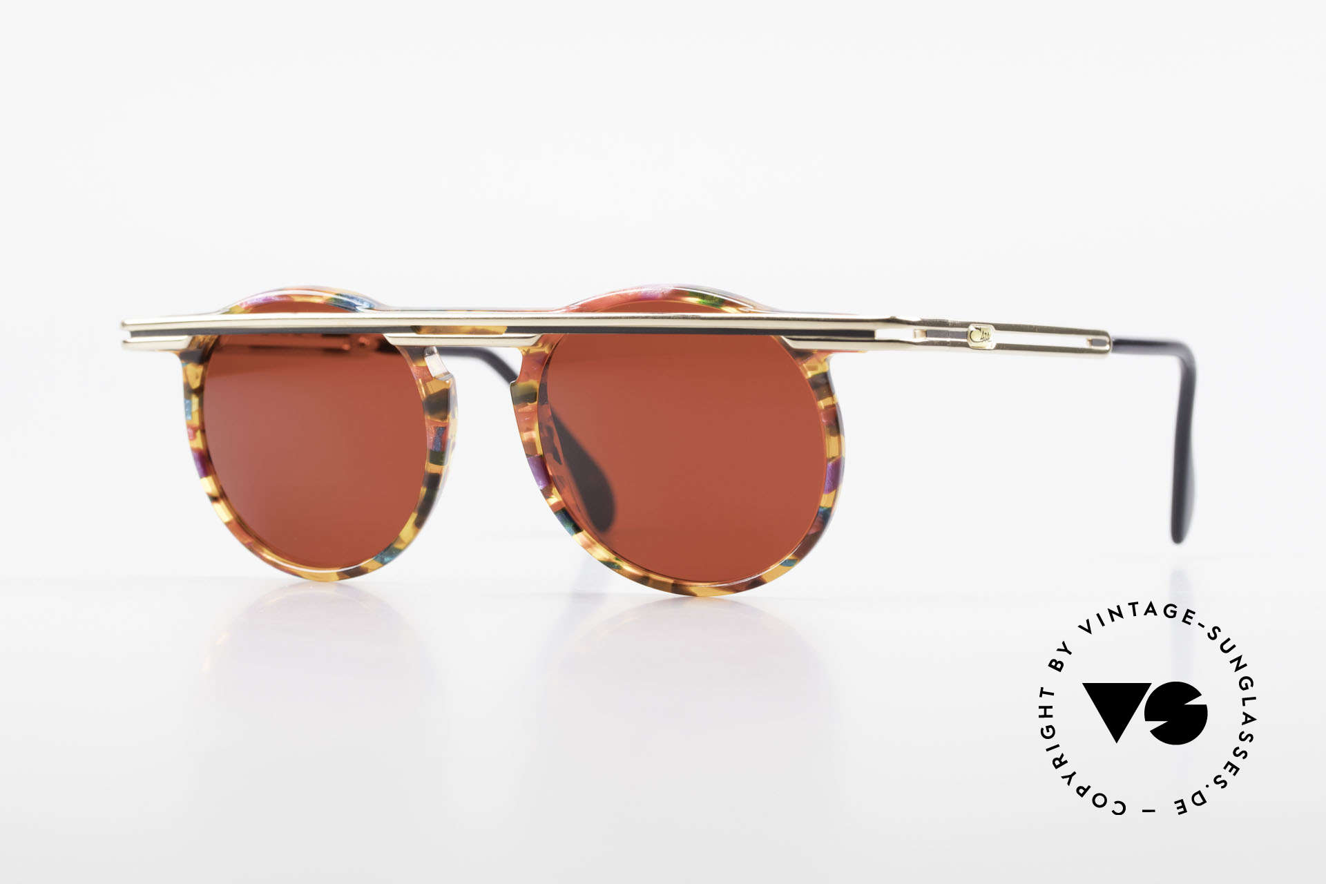 Cazal 648 Original Old Cazal Sunglasses, extraordinary CAZAL vintage sunglasses from 1990, Made for Men and Women