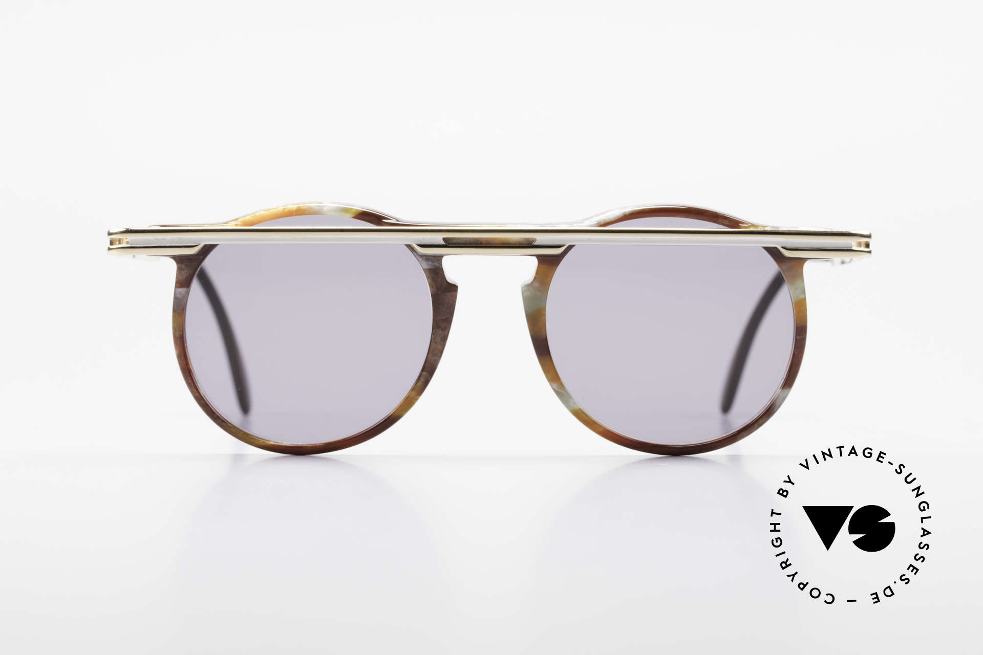 Cazal 648 Cari Zalloni Round Shades 90s, worn by the designer - Cari Zalloni (see the booklet), Made for Men and Women
