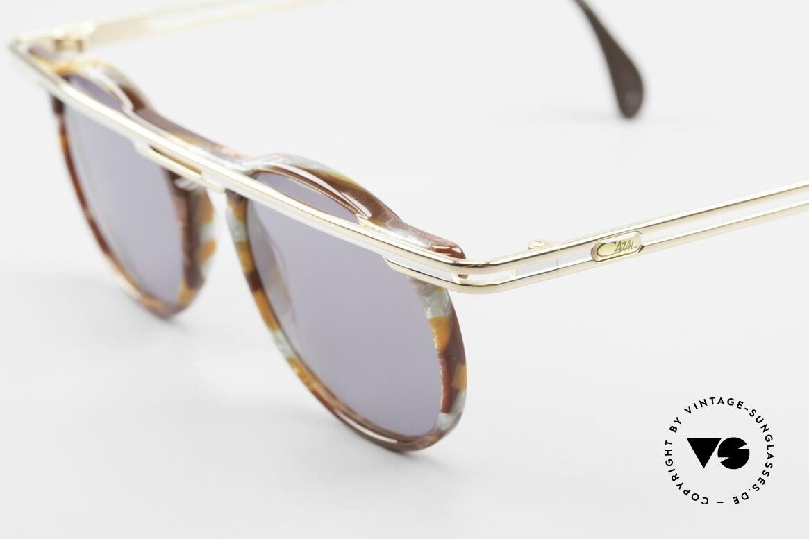 Cazal 648 Cari Zalloni Round Shades 90s, a true 90's masterpiece - just precious and distinctive, Made for Men and Women