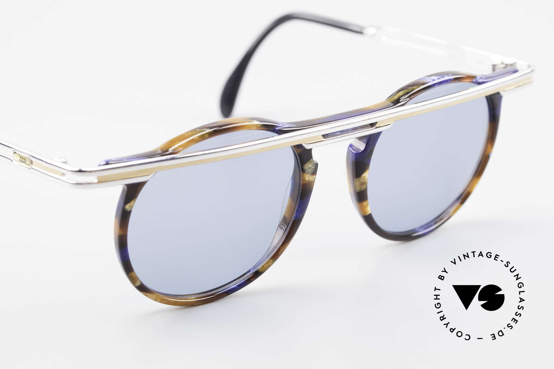 Cazal 648 Old Cari Zalloni Sunglasses, unworn, NOS (like all our rare vintage Cazal glasses), Made for Men and Women
