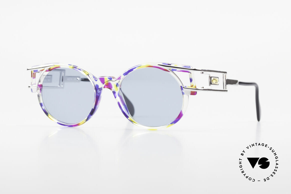 Cazal 353 Old School Hip Hop Shades 90s, true VINTAGE CAZAL designer sunglasses from 1991, Made for Men and Women