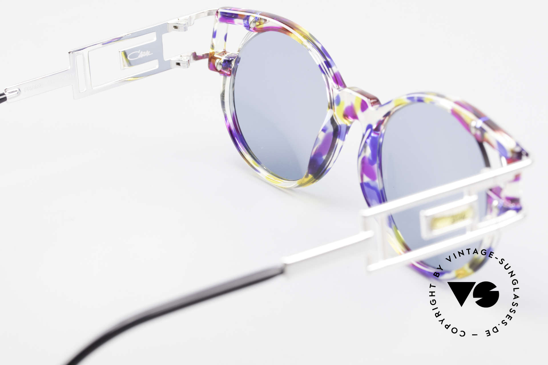 Cazal 353 Old School Hip Hop Shades 90s, NO RETRO SUNGLASSES, but a 27 years old ORIGINAL, Made for Men and Women