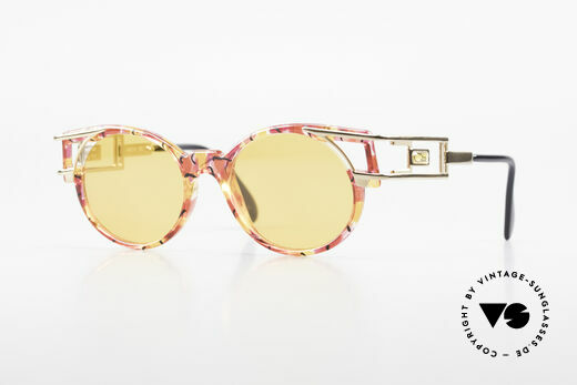 Cazal 353 Hip Hop Old School Sunglasses Details