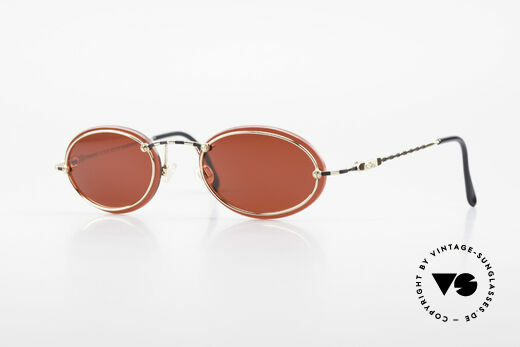Cazal 770 90's Vintage Sunglasses Oval Details