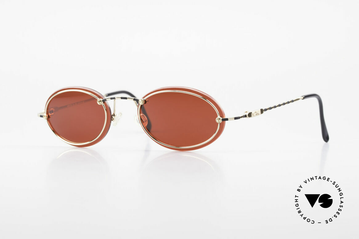 Cazal 770 90's Vintage Sunglasses Oval, filigree CAZAL vintage eyeglass-frame from 1998, Made for Men and Women