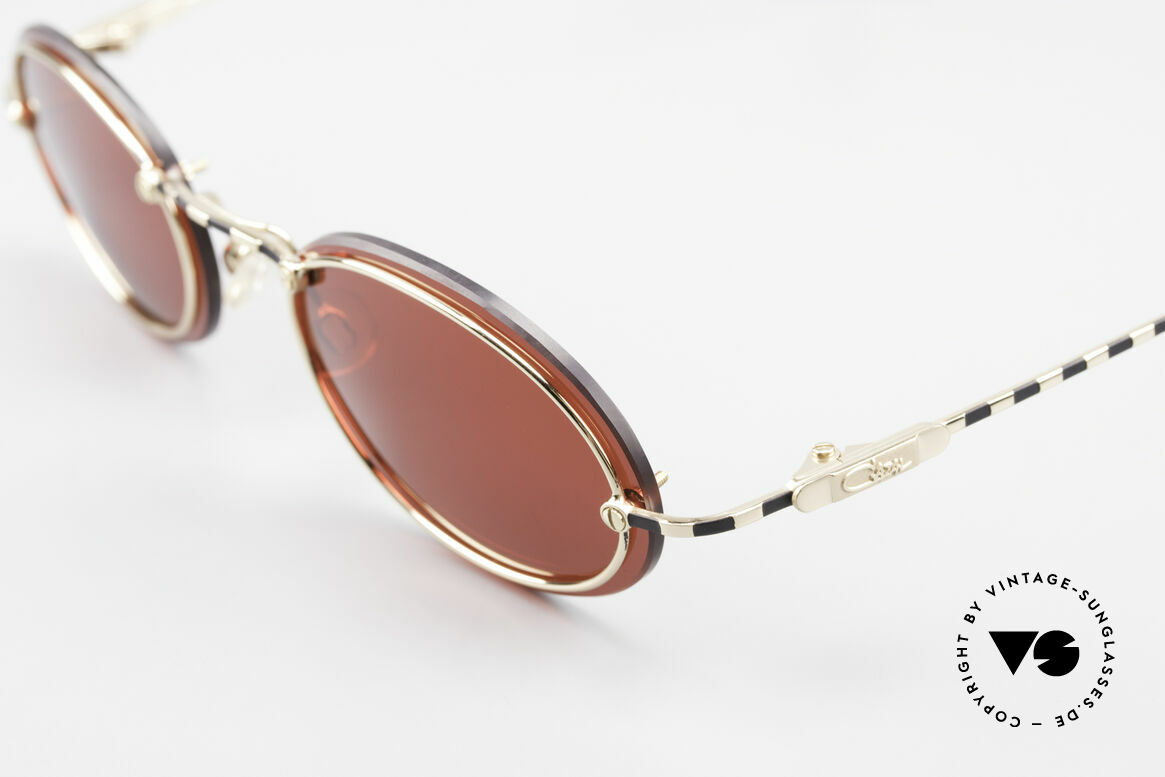 Cazal 770 90's Vintage Sunglasses Oval, never worn (like all our VINTAGE CAZAL eyewear), Made for Men and Women