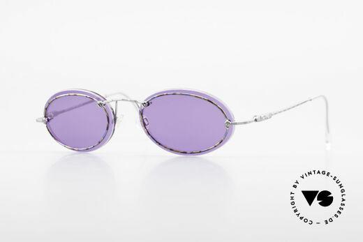 Cazal 770 Oval Vintage Sunglasses 90's Details