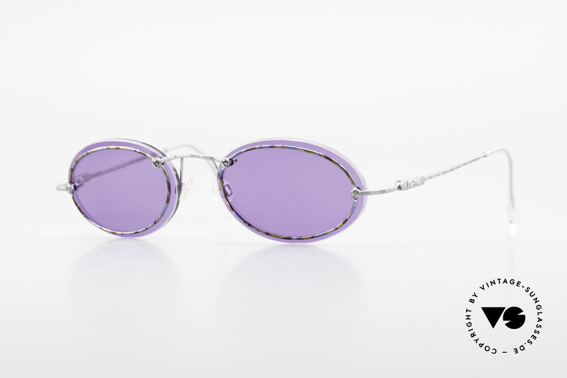 Cazal 770 Oval Vintage Sunglasses 90's, filigree CAZAL vintage eyeglass-frame from 1998, Made for Men and Women