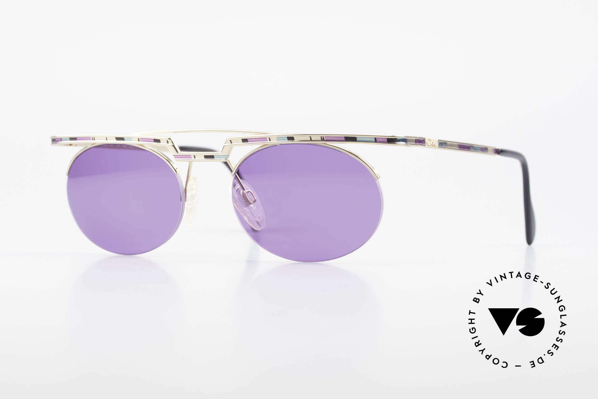 Cazal 758 No Retro Cazal Sunglasses 90s, interesting old Cazal VINTAGE sunglasses from 1997/98, Made for Men and Women