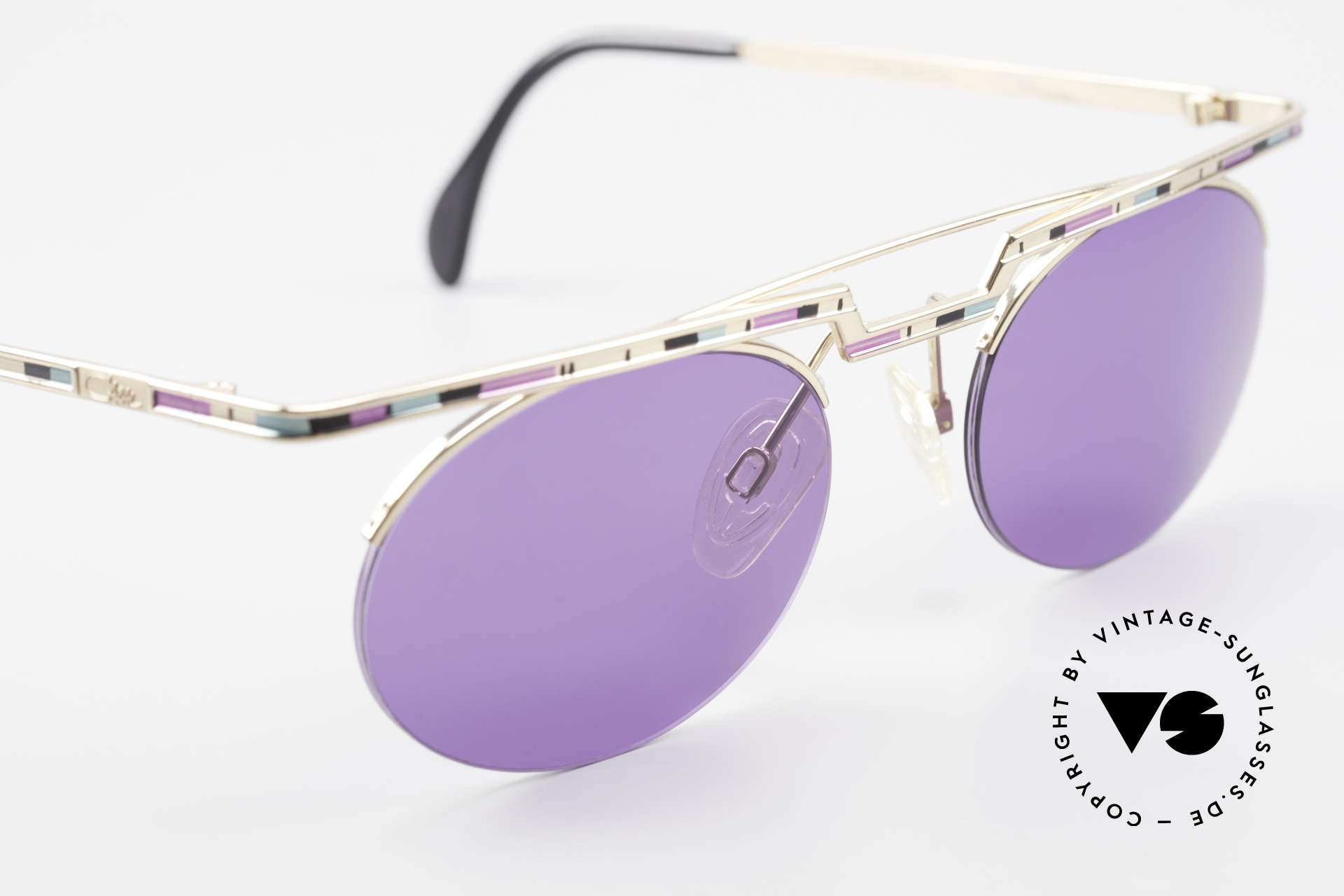 Cazal 758 No Retro Cazal Sunglasses 90s, tangible high-end craftsmanship (frame made in Germany), Made for Men and Women