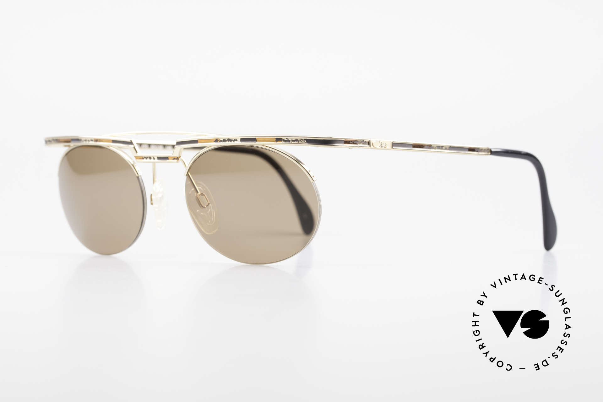 Cazal 758 Original Cazal Sunglasses 90's, costly varnishing (characteristical for all vintage Cazals), Made for Men and Women
