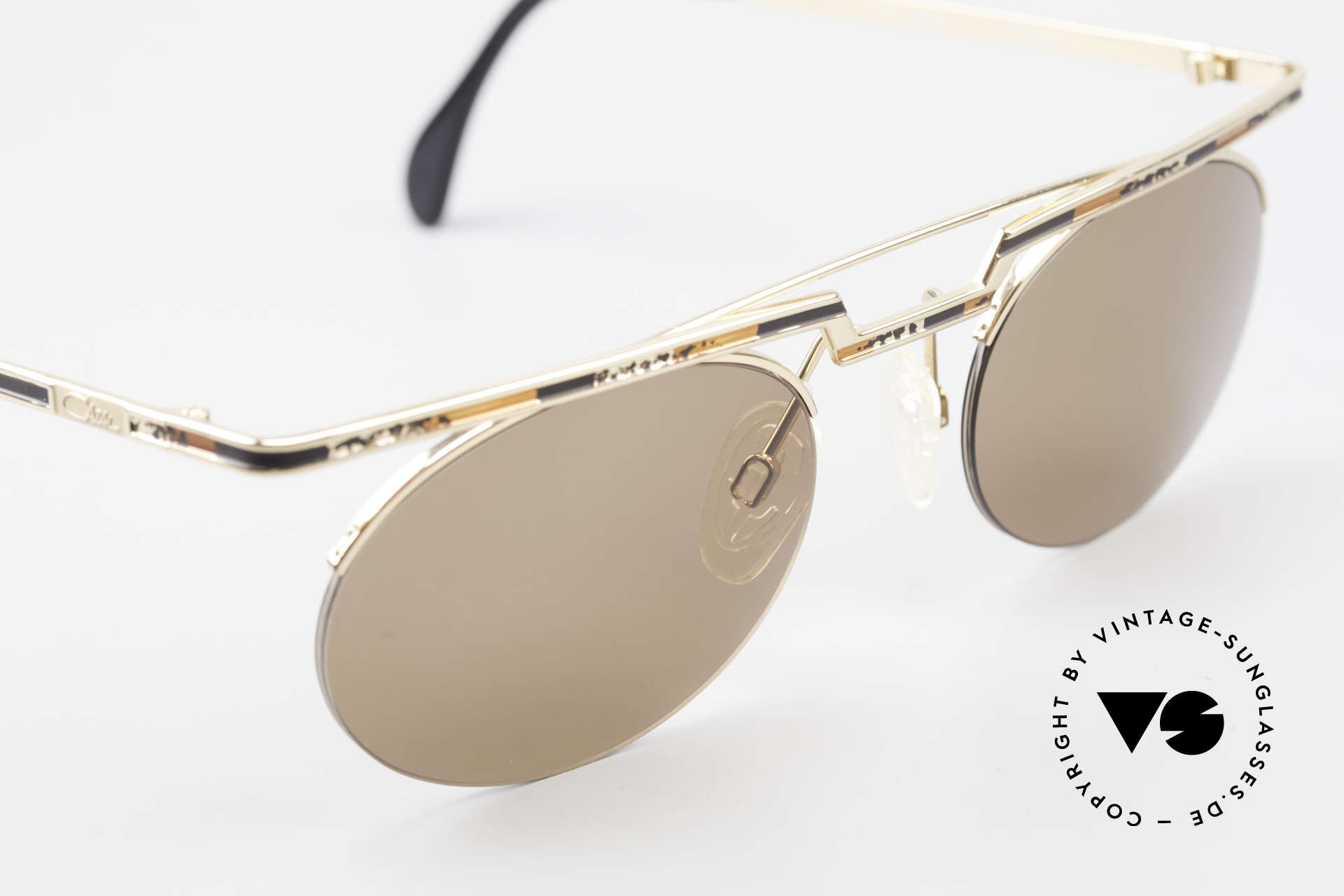 Cazal 758 Original Cazal Sunglasses 90's, tangible high-end craftsmanship (frame made in Germany), Made for Men and Women