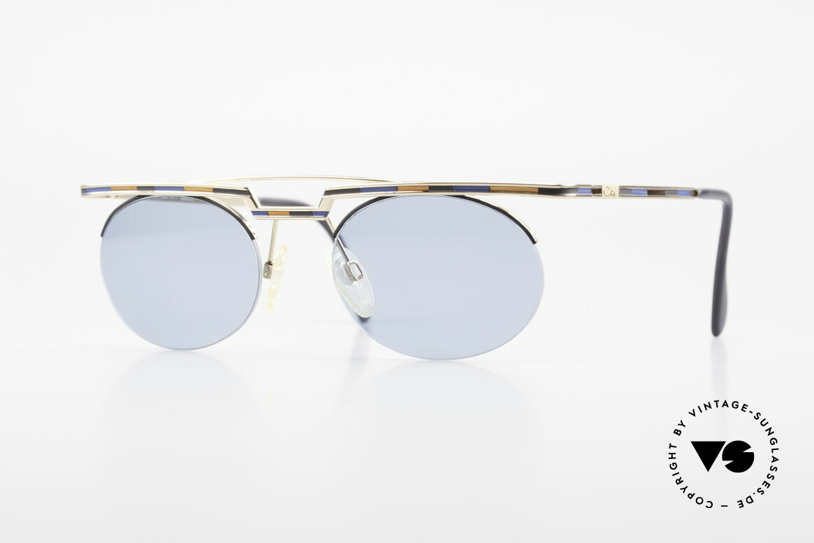 Cazal 758 Original 90s Cazal Sunglasses, interesting old Cazal VINTAGE sunglasses from 1997/98, Made for Men and Women
