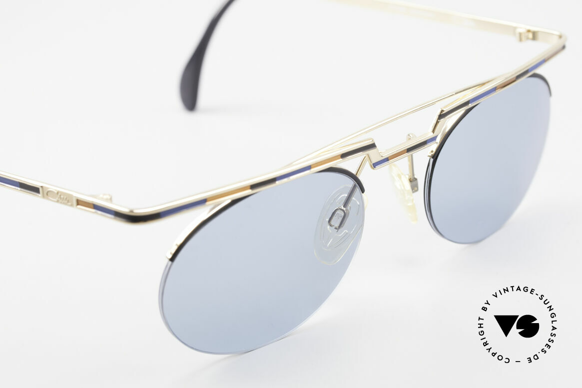 Cazal 758 Original 90s Cazal Sunglasses, tangible high-end craftsmanship (frame made in Germany), Made for Men and Women